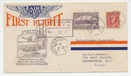 Registered FFC / First Flight Cover Canada 1936 Fishing - Vissen