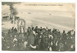 Vlc Espagne - Cantalejo : Un Pélerinage Se Rendant à L'église - Espagne