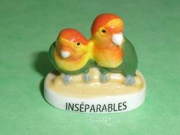Fèves / Animaux : Oiseau , Inséparables  T105 - Animals