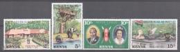Kenya - Kenia 1977 Yvert 82-85, Silver Jubilee Queen Elizabeth II - MNH - Kenya (1963-...)