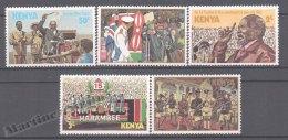 Kenya - Kenia 1978 Yvert 124-28, Tribute To President, Harambee - MNH - Kenya (1963-...)