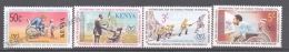 Kenya - Kenia 1981 Yvert 178-81, International Year For Disabled Persons - MNH - Kenya (1963-...)