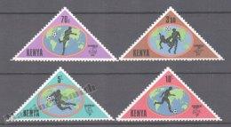 Kenya - Kenia 1982 Yvert 224-27, España ´82 Football World Cup - MNH - Kenya (1963-...)