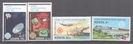 Kenya - Kenia 1983 Yvert 264-67, World Communications Day - MNH - Kenya (1963-...)
