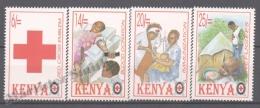Kenya - Kenia 1996 Yvert 668-72, Red Cross - MNH - Kenya (1963-...)