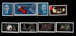DDR 1138 - 1146 Kosmonauten /Menzel / Berakademie  ** MNH Neuf - DDR