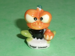 Fèves / Animaux : La Grenouille , Froga Loween    T105 - Animals