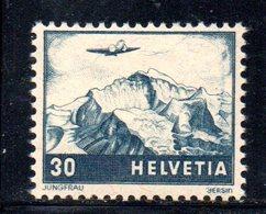507/1500 - SVIZZERA 1948 , Posta Aerea Unificato N. 42 Con Gomma Integra  ***  MNH - Nuovi