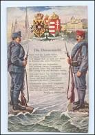 Y10220/ Die Donauwacht  Österreich - Ungarn AK 1916 - Weltkrieg 1914-18