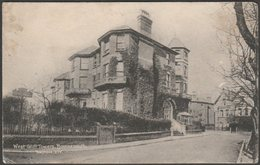 West Cliff Towers, Bournemouth, Hampshire, 1921 - Bristol Printing & Publishing Co Postcard - Bournemouth (until 1972)