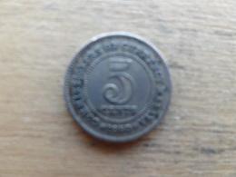 Malaya  5  Cents  1950  Km 7 - Malaysie