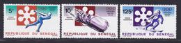 SENEGAL AERIENS N°  113 à 115 ** MNH Neufs Sans Charnière, TB (D7649) Jeux Olympiques D'hiver à Sapporo - 1972 - Senegal (1960-...)