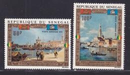 SENEGAL AERIENS N°  116 & 117 ** MNH Neufs Sans Charnière, TB (D7650) Sauvegarde De Venise, UNESCO - 1972 - Senegal (1960-...)