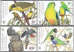 Australia 1744-1747 Couples (complete Issue) Unmounted Mint / Never Hinged 1998 Birds - 1990-99 Elizabeth II