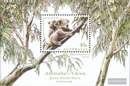 Australien Block 18 (completa.Problema.) MNH 1995 Rare Animali - 1990-99 Elizabeth II