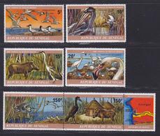SENEGAL N°  488 à 491, AERIENS 160 & 161 ** MNH Neufs Sans Charnière, TB (D7653) Animaux, Delta De Saloum- 1978 - Sénégal (1960-...)