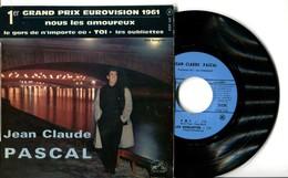 EP 45tours : JEAN-CLAUDE PASCAL : Nous Les Amoureux (1961) - Vinyles