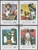 South Africa - Transkei 254-257 (complete.issue.) Unmounted Mint / Never Hinged 1990 Wahrsagerei - Transkei