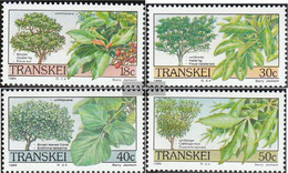 South Africa - Transkei 242-245 (complete.issue.) Unmounted Mint / Never Hinged 1989 Trees - Transkei