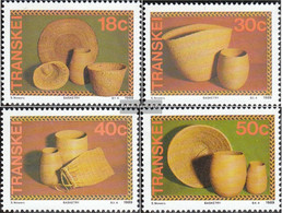 South Africa - Transkei 234-237 (complete.issue.) Unmounted Mint / Never Hinged 1989 Korbwaren - Transkei