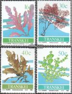 South Africa - Transkei 214-217 (complete Issue) Unmounted Mint / Never Hinged 1988 Meeresalgen - Transkei