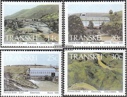 South Africa - Transkei 189-192 (complete Issue) Unmounted Mint / Never Hinged 1986 Hydropower - Transkei