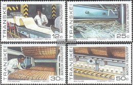 South Africa - Transkei 172-175 (complete Issue) Unmounted Mint / Never Hinged 1985 Streichholzindustrie - Transkei