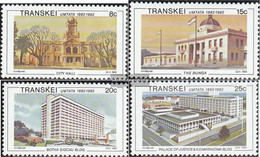 South Africa - Transkei 111-114 (complete.issue.) Unmounted Mint / Never Hinged 1982 Umtata - Transkei