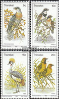 South Africa - Transkei 75-78 (complete.issue.) Unmounted Mint / Never Hinged 1980 Birds - Transkei