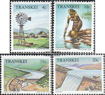 South Africa - Transkei 54-57 (complete.issue.) Unmounted Mint / Never Hinged 1979 Water - Transkei