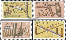 South Africa - Transkei 33-36 (complete.issue.) Unmounted Mint / Never Hinged 1978 Whistles - Transkei