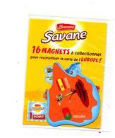 Magnet Brossard Savane Europe Espagne Girafe Flamenco - Magnets
