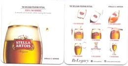 #D221-081 Viltje Stella (export Thailand) - Beer Mats