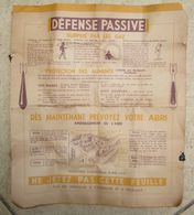Depliant Defense Passive 1940 - Documents