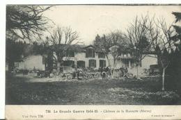 51             Guerre 14/18 Marne  Chateau De La Harazee Animee - Pargny Sur Saulx