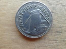 Barbades  25  Cents  1973  Km 13 - Barbados