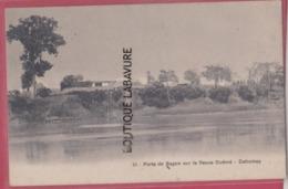 DAHOMEY---( BENIN )--Porte De Sagon Sur Le Fleuve Ouémé - Dahomey