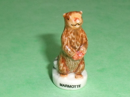 Fèves / Animaux : Marmotte      T102 - Animals