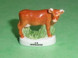 Fèves / Animaux : Vache , La Jersiaise    T102 - Animals