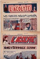 L' ACOLYTE 1958 & 59 Réunion De 50 Numéros + 3 L'nfant De Choeur  RELIGION - Other Magazines