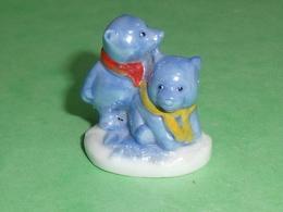 Fèves / Animaux : Ours , Bleu , Irisé   T102 - Animals