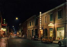 LIVORNO - San Vincenzo - Notturno - Tabaccheria / Tabacchi / Tabacchino - Auto VW Maggiolino - Bar Cinema - Motta - 1964 - Livorno