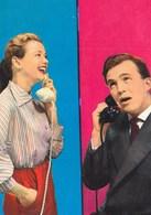 Couple W Telephone 1969 - Couples