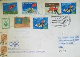 O) 2001 KAZAKHSTAN, WINTER OLYMPICS LILLEHAMMER -ICE HOCKEY-SPEED SKATING-SLALOM SKIING, 1999 CENSUS, DAY OF REPUBLIC, C - Kazakhstan
