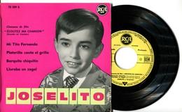 """EP 45tours : JOSELITO : Chansons Du Film """"Ecoute Ma Chanson"""" (1960) - Vinyles"""