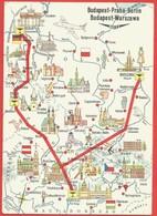 Hungarian Airlines, Budapest, Praha, Berlin - Aviazione