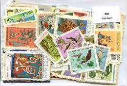 Lot 200 Timbres Viet-Nam - Timbres