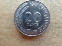 Singapour  20  Cents  1981  Km 4 - Singapour