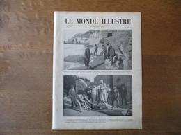 LE MONDE ILLUSTRE N°2746 13 NOVEMBRE 1909 IMPRESSIONS SUR CONSTANTINOPLE,PROCES DE Mme STEINHEIL,LA LIGNE DE CERDAGNE,M. - Books, Magazines, Comics