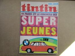 Tintin Le Super Journal Des Jeunes De 7 à 77 Ans  (N° 2 / 1971) 26° Année Édition Belge - Libros, Revistas, Cómics